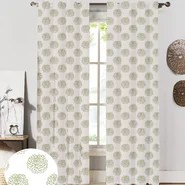 Peony Curtain Panels (Set of 2)