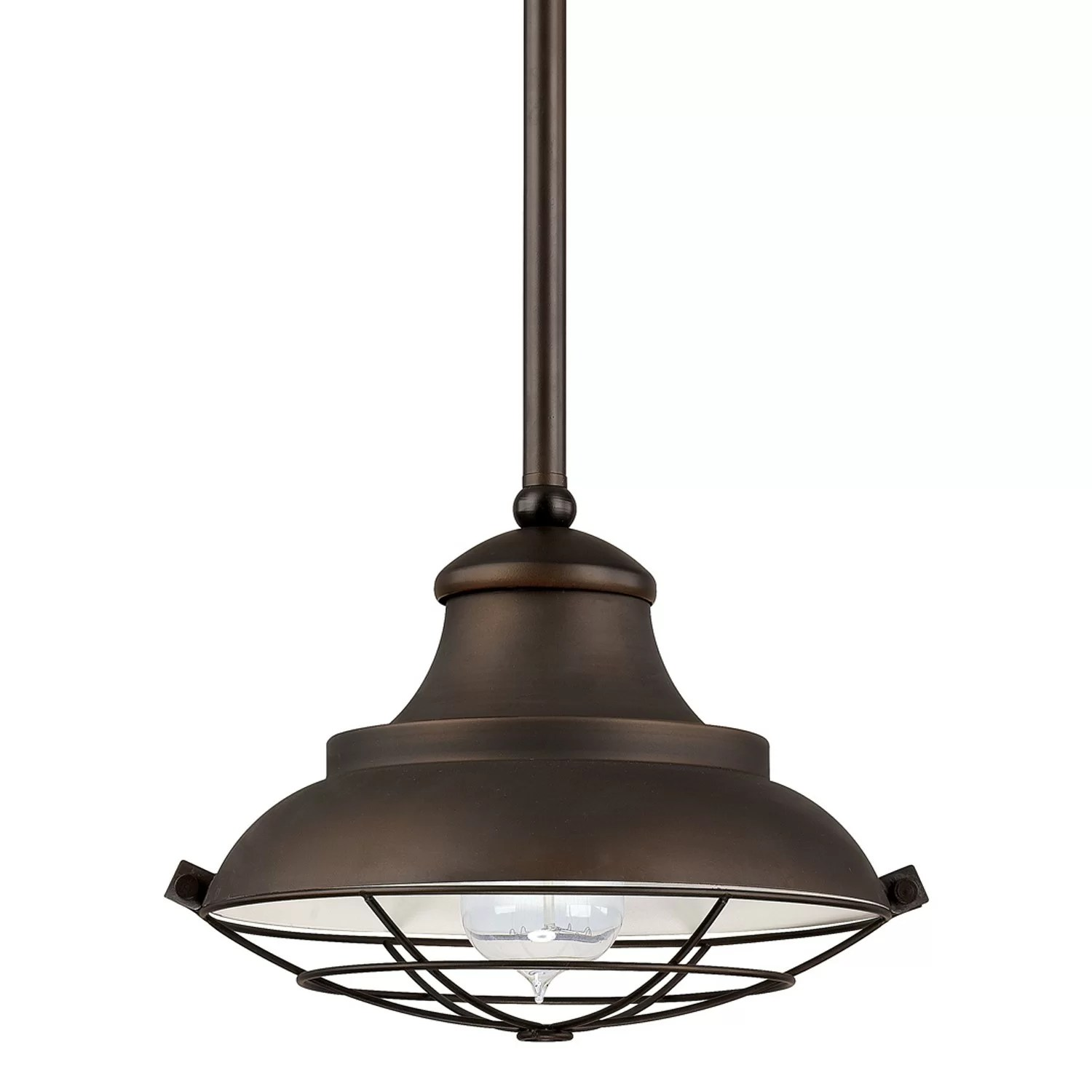Capital Lighting 1 Light Mini Pendant  Reviews  Wayfair