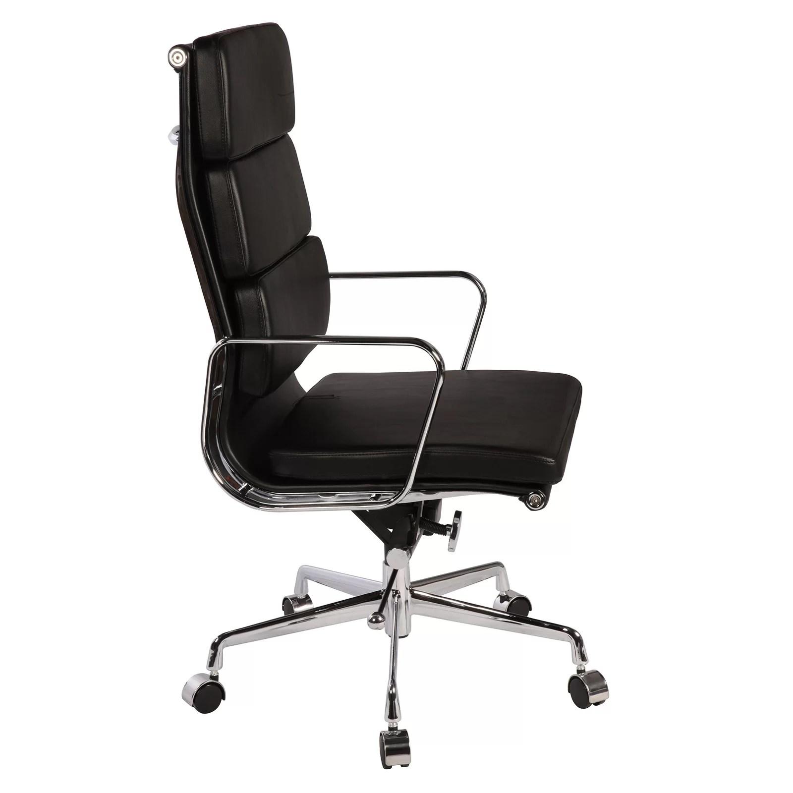 eames leather chair dining covers dubai polivaz replica executive wayfair
