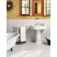 """Daltile Octagon and Dot 2"""" x 2"""" Ceramic Mosaic Tile in ..."""