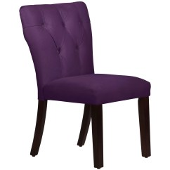 Velvet Tufted Chair Leather Wingback Skyline Furniture Hourglass Side