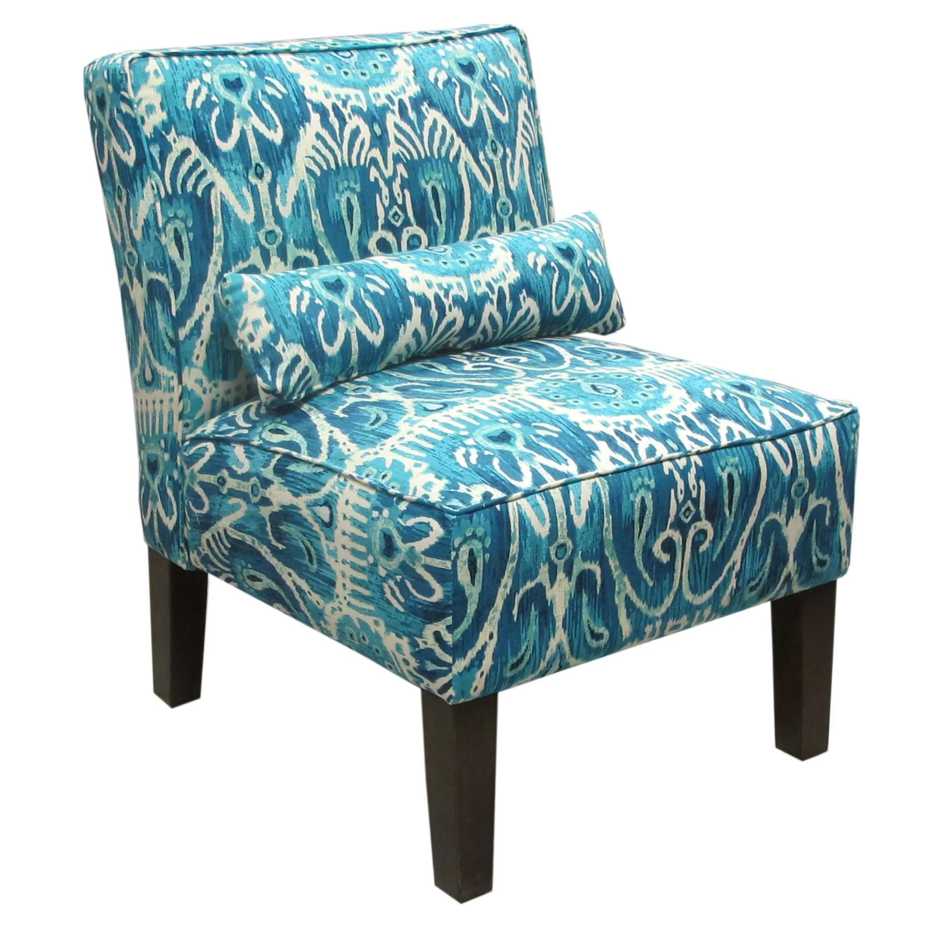 skyline furniture accent chairs small wooden chair alessandra armless slipper