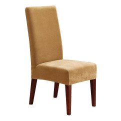 Sure Fit Parsons Chair Slipcovers Malawi Chairs Johannesburg Stretch Pique Short Slipcover And Reviews