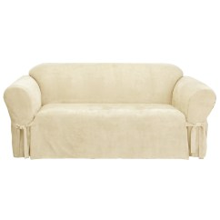 Sure Fit Soft Suede Sofa Slipcover Best Carpet Color For Brown And Reviews Wayfair Ca