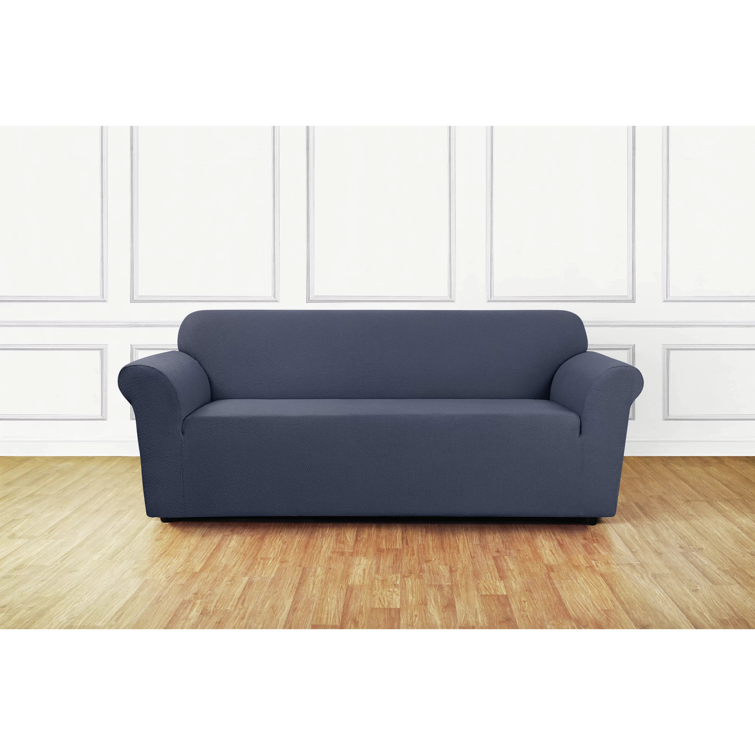 wayfair sofa covers sleeper in costco sure fit stretch delicate leaf slipcover and reviews