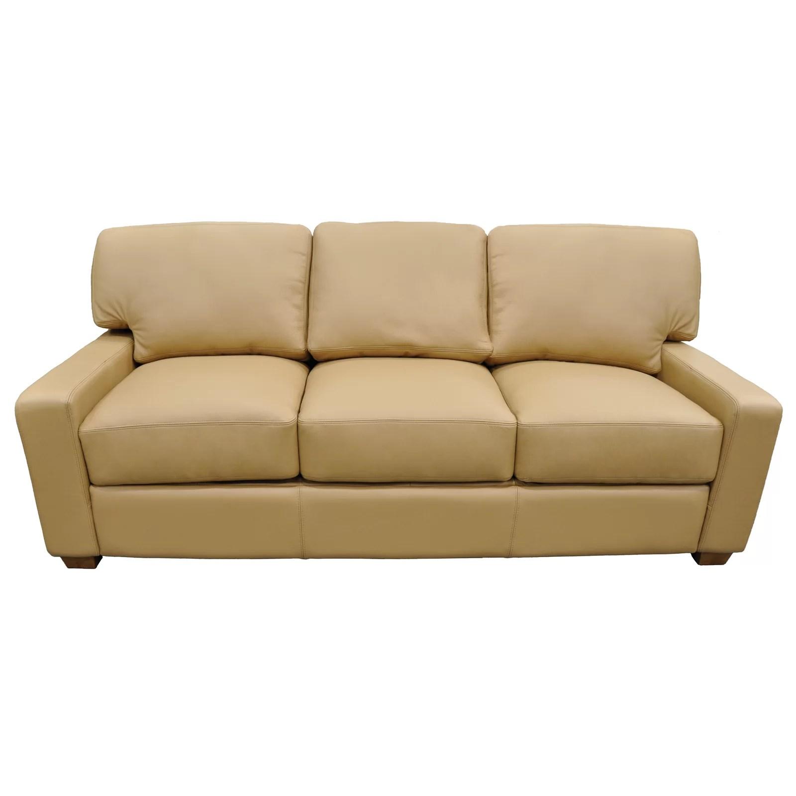 albany leather sofa modular corner bed uk omnia sectional wayfair