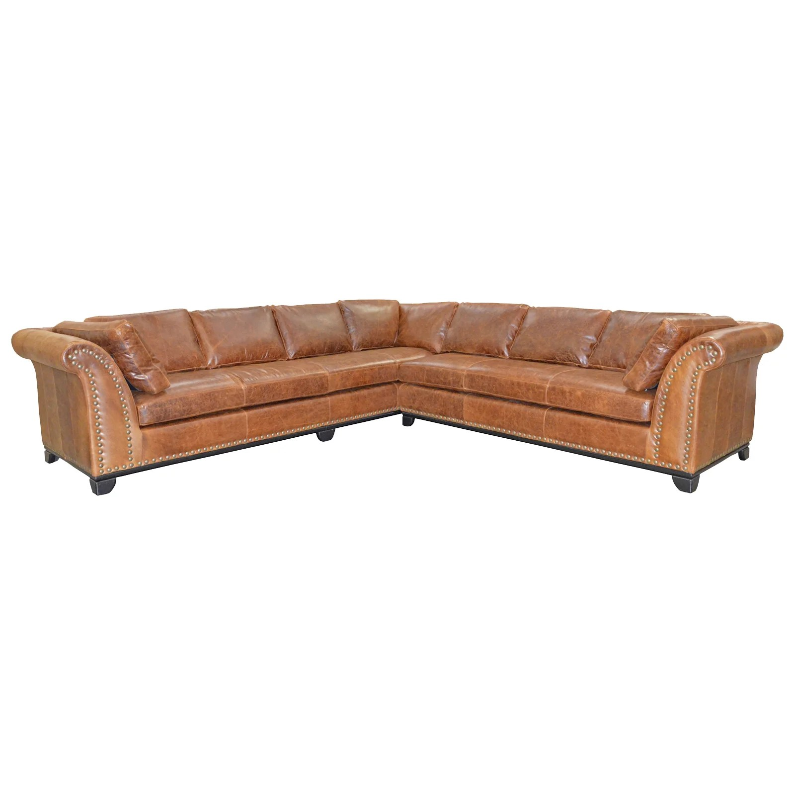 omnia leather sofa beds green what color wall paint kingsley sectional and reviews wayfair ca