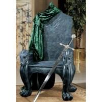 Design Toscano Celtic Dragon Throne Arm Chair | Wayfair