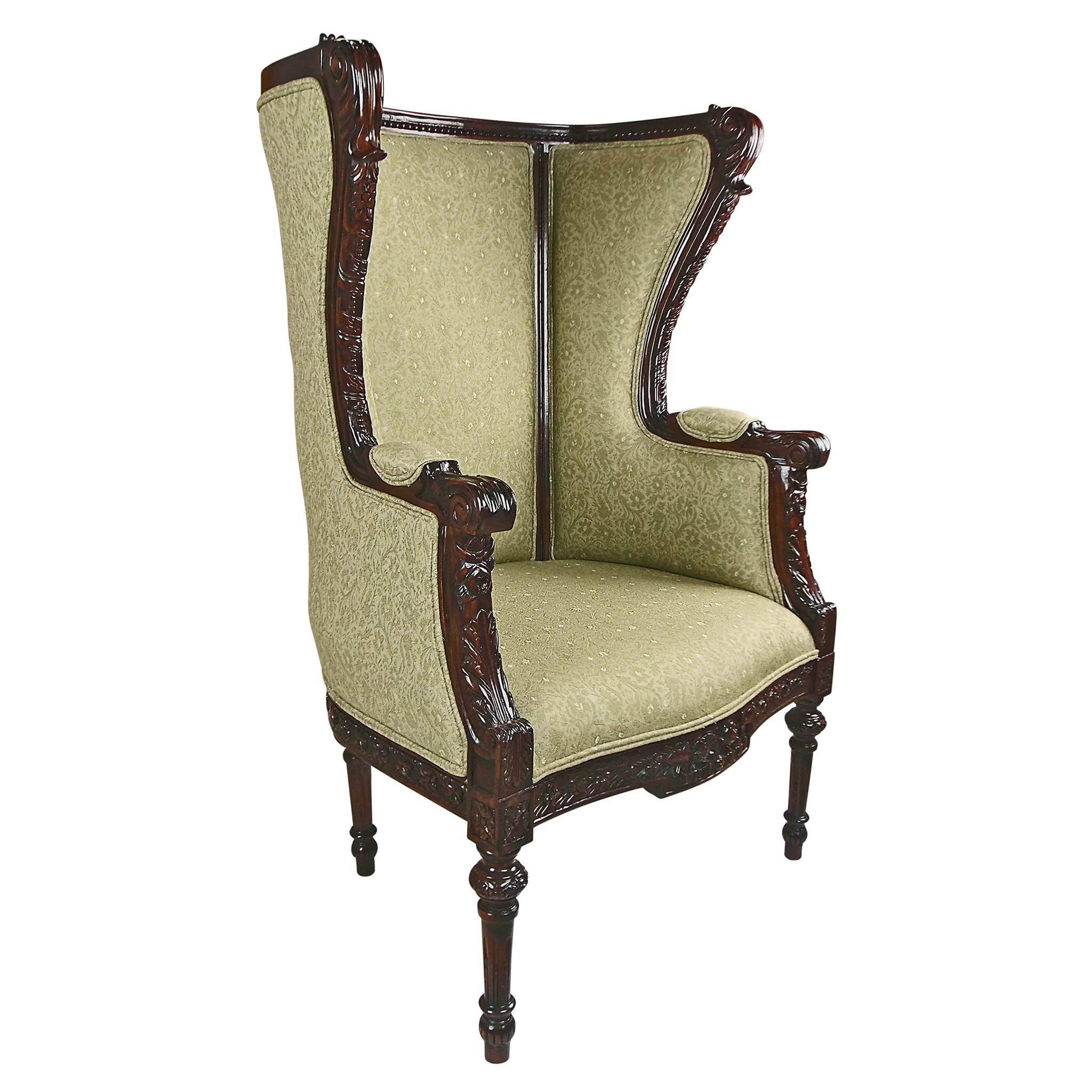 Wayfair Wingback Chair Design Toscano Louis Xvi Wingback Chair Wayfair