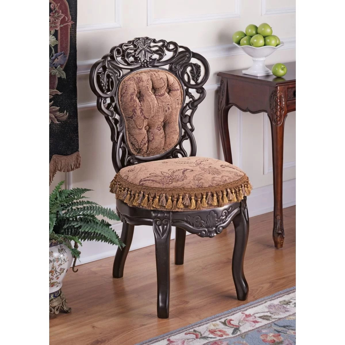victorian parlor chairs chair cover hire great yarmouth design toscano fabric side