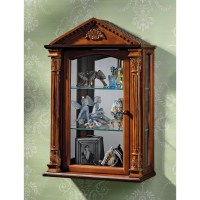 Design Toscano Essex Hall Wall-Mounted Curio Cabinet ...