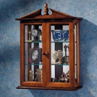 Design Toscano Amesbury Manor Wall-Mounted Curio Cabinet ...