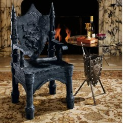 Game Of Thrones Office Chair Dining Steel Buy Design Toscano The Dragon Upminster Castle Throne Arm