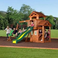 Swing Chair Wayfair Office Knoll Backyard Discovery Tanglewood All Cedar Set & Reviews |