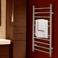 WarmlyYours Metropolitan Wall Mount Electric Towel Warmer