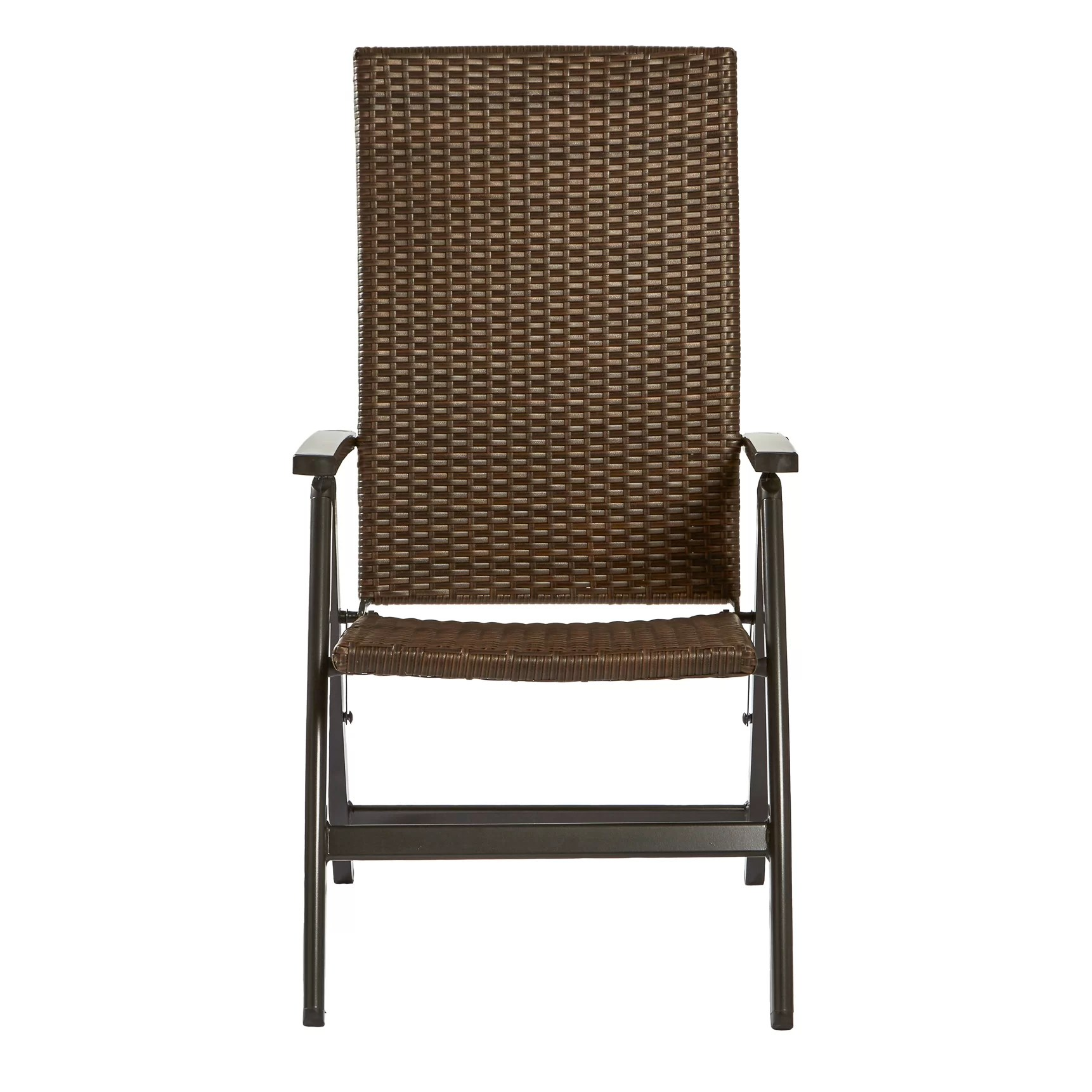 wicker reclining patio chair ergonomic for sale greendale home fashions outdoor