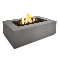 Real Flame Baltic Rectangle Propane Fire Pit Table ...
