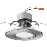 Lithonia Lighting Gimbal Module LED Recessed Retrofit ...