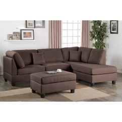 Reversible Sectional Sofas With Chaise Manhattan Sofa Bed Uk Poundex Bobkona Dervon