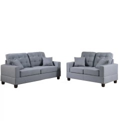 Bobkona Sectional Sofa Embly Instructions Coasters Bed Poundex Aria And Loveseat Set Reviews Wayfair
