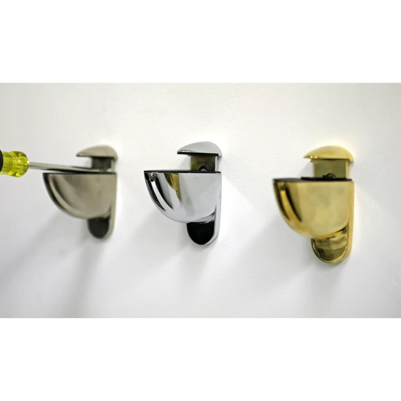 Spancraft Glass Floating Glass Bathroom Shelf & Reviews