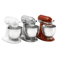 Kitchen Aid Glass Bowl Small Solutions Ikea Kitchenaid Artisan Series 5 Qt Stand Mixer With Stainless