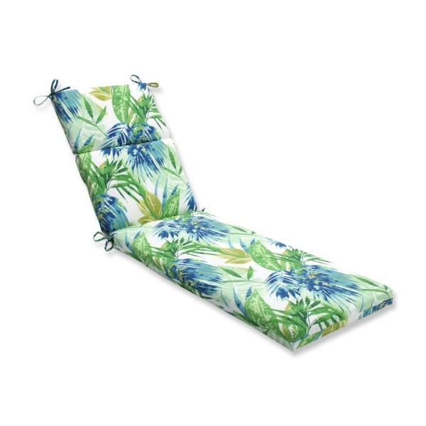 Pillow Perfect Soleil Outdoor Chaise Lounge Cushion &