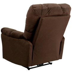 Power Recliner Chairs Reviews Office Depot Chair Flash Furniture Contemporary Microfiber