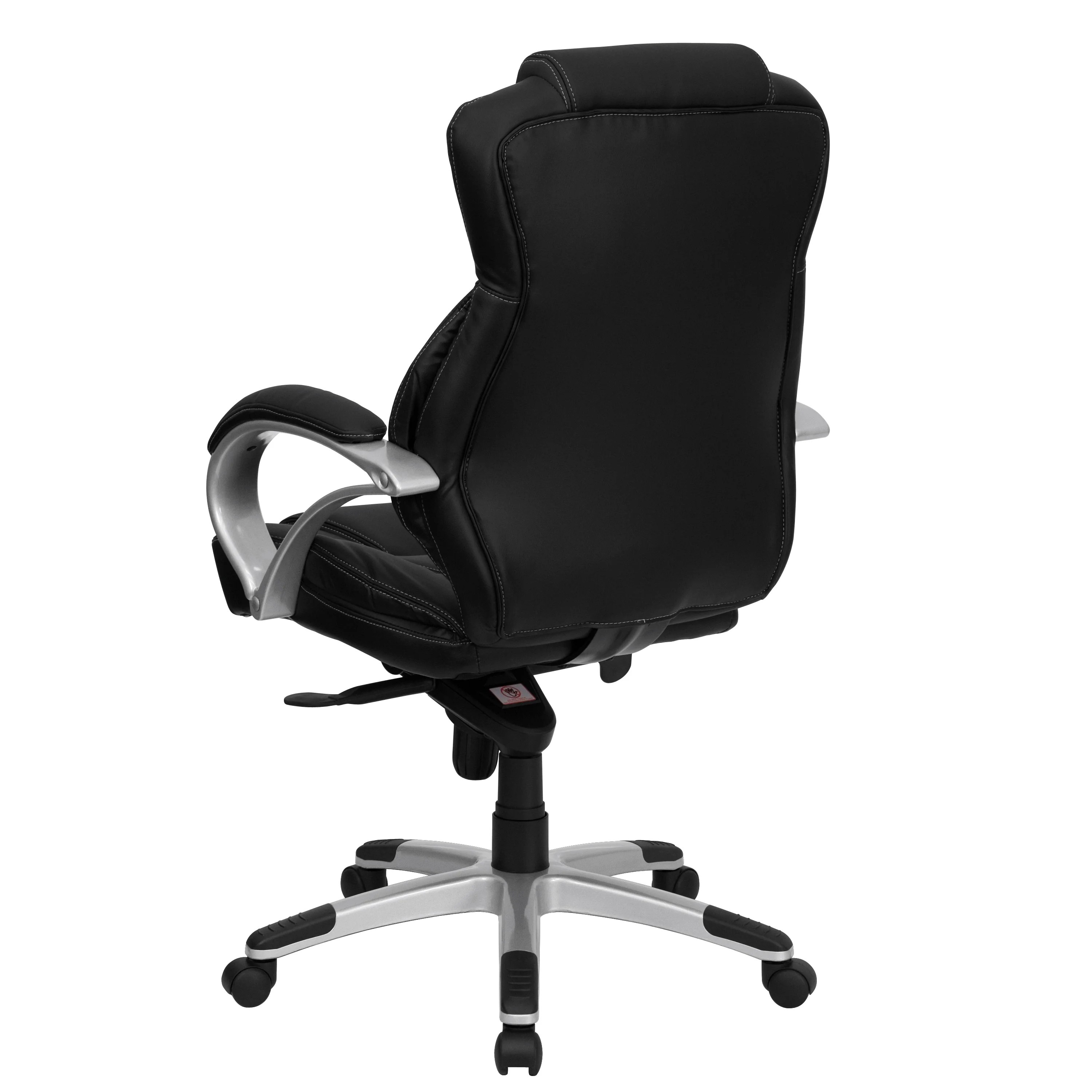 high back contemporary chairs recaro desk chair flash furniture executive