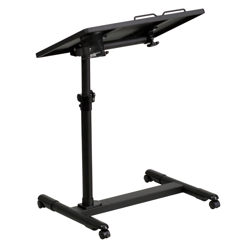 steel chair bush bedroom hanging flash furniture adjustable laptop cart and reviews wayfair ca