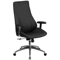 Swivel Chair High Back Humanscale World Flash Furniture Leather Executive