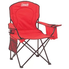 Coleman Camping Oversized Quad Chair With Cooler Types Of Covers For Wedding And Reviews Wayfair