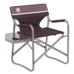 Coleman Max Camping Chair Ergonomic Pads Portable Deck With Side Table And Reviews