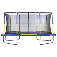 Upper Bounce Spacious 15' Rectangular Trampoline with ...