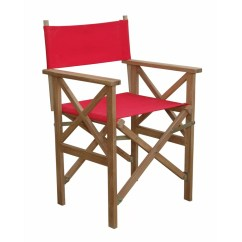 Folding Arm Chair Traditional Leather Wingback Anderson Teak Director Wayfair