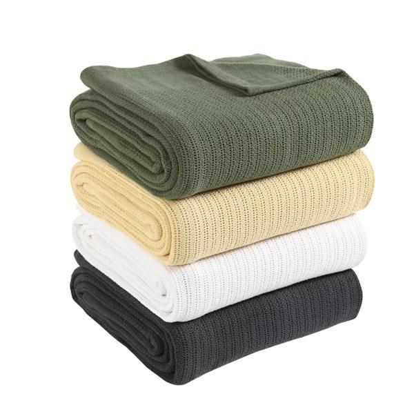 Fiesta Thermal 100 Cotton Blanket &