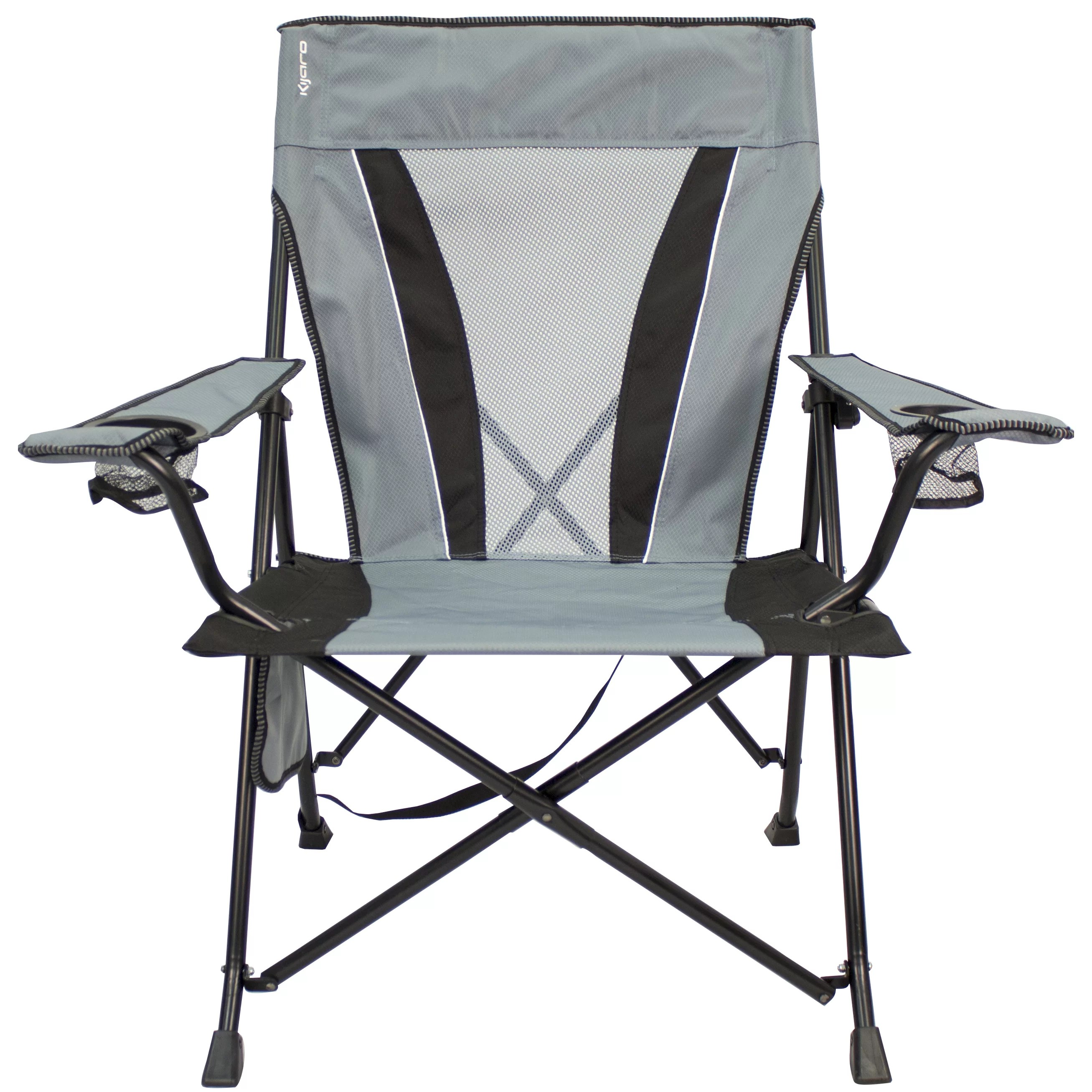 kijaro dual lock folding chair xxl outdoor with side table wayfair