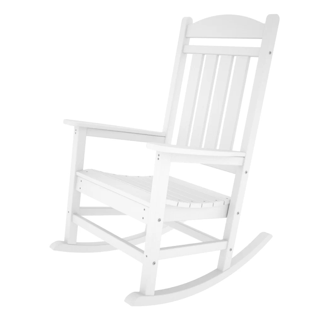 Polywood Rocking Chairs Polywood Presidential Rocking Chair And Reviews Wayfair
