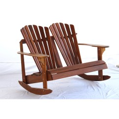 Double Rocking Adirondack Chair Plans Evenflo Babygo High Hyre 39s Country Signature Teak Back