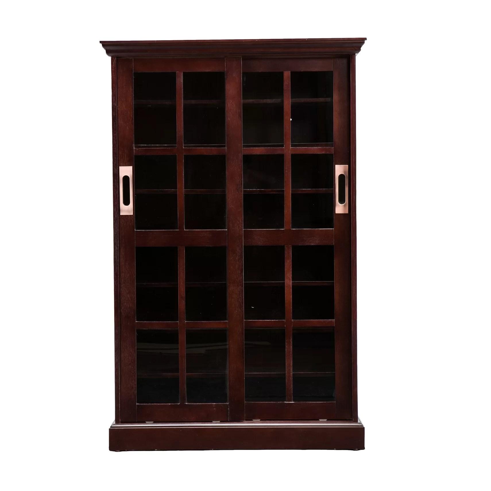 Wildon Home  Broxton Sliding Door Media Cabinet  Reviews