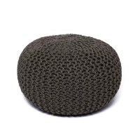 Wildon Home  Corded Jute Round Pouf Ottoman & Reviews ...