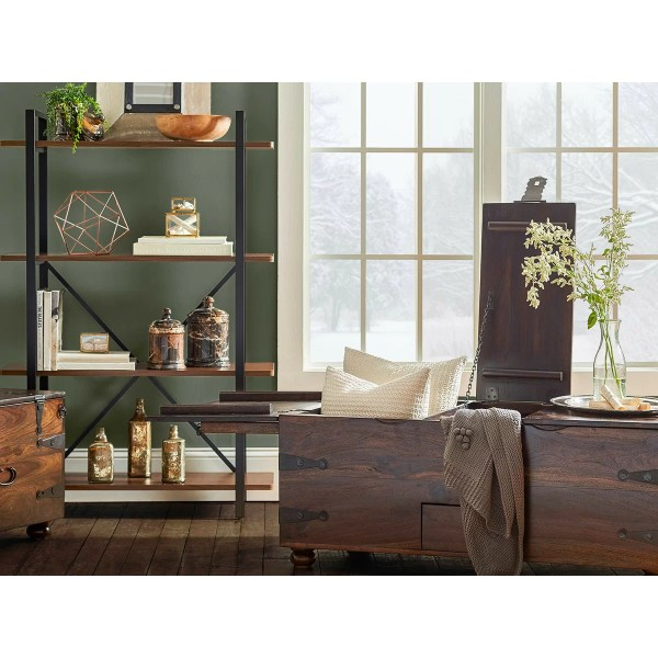 """Wildon Home Charlie 52"""" Etagere Bookcase &"""