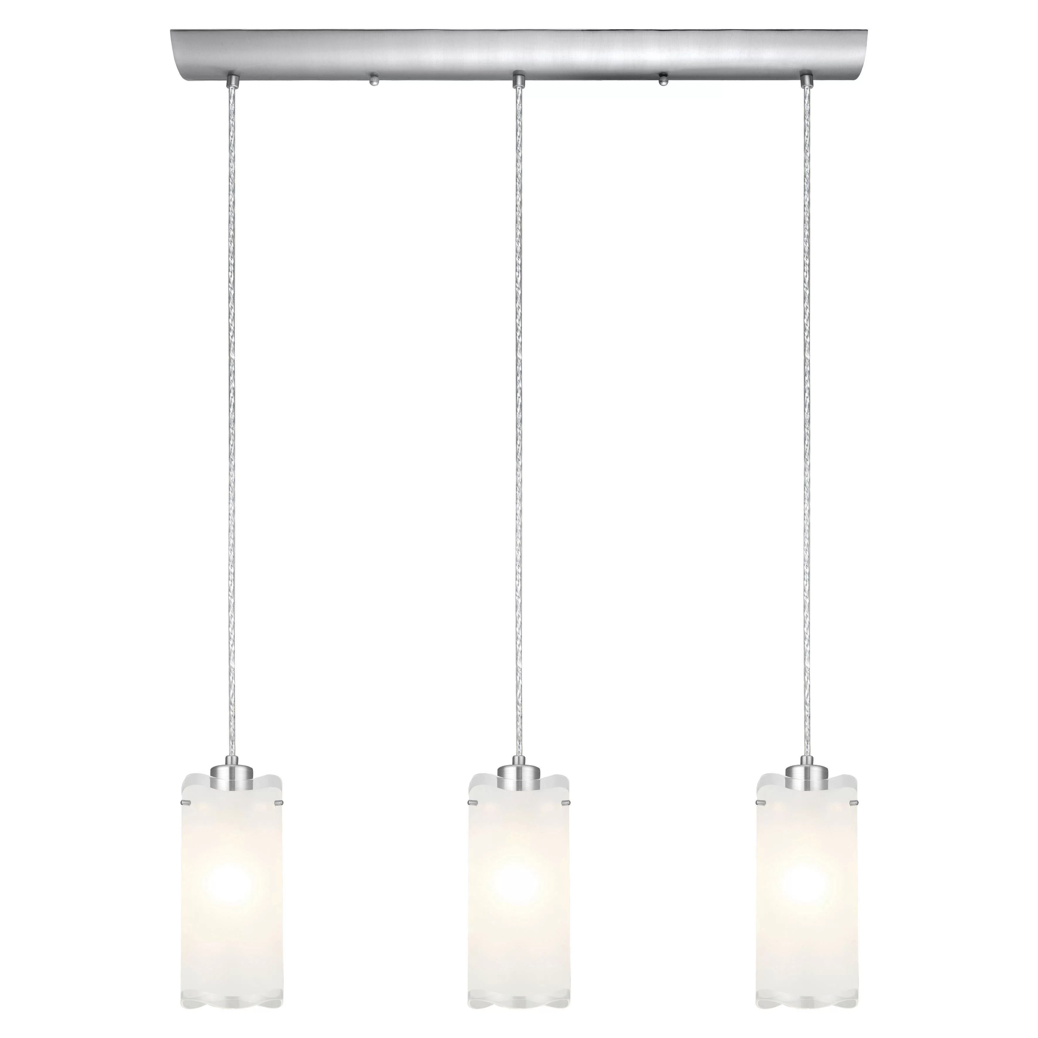 3 light kitchen island pendant table bench seating eglo felice and reviews wayfair