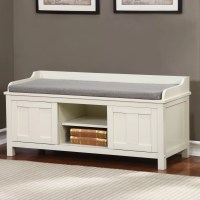 Breakwater Bay Maysville Wood Storage Entryway Bench ...