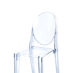 Ghost Side Chair Slipcovered And A Half Kartell Victoria Reviews Wayfair
