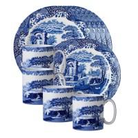 Spode Blue Italian 12 Piece Dinnerware Set & Reviews   Wayfair