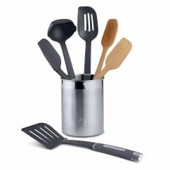 Kitchen Essentials By Calphalon Baseboards Nylon Utensils 7 Piece Mixed Utensil Set