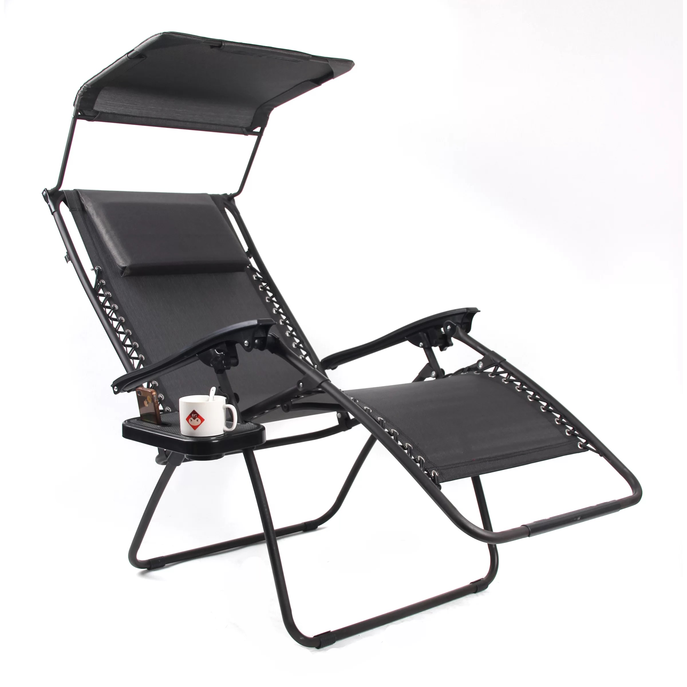 Gold Sparrow Pacific Black XL Zero Gravity Chair & Reviews
