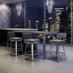 Swivel Chair Nebraska Furniture Mart Chairs Home Depot Amisco New York Style 30 Quot Bar Stool And Reviews Wayfair