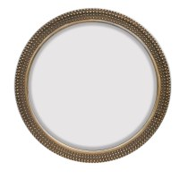 Majestic Mirror Large Round Traditional Silver Decorative ...